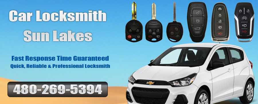 Car Locksmith Sun Lakes banner