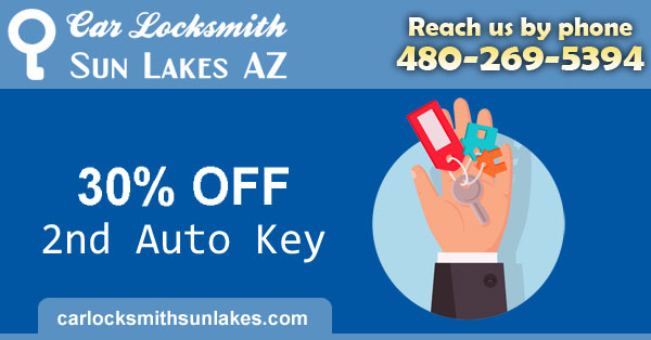 Car Locksmith Sun Lakes Coupon